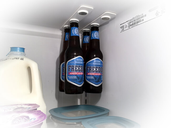 Bottleloft, invention aimants frigo pour bières