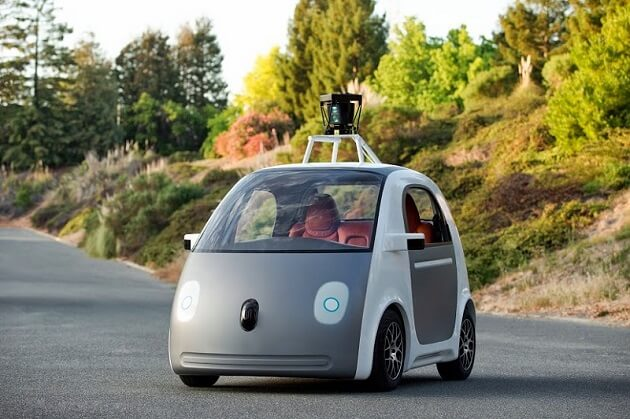 Google Car voiture sans conducteur prototype mai 2014