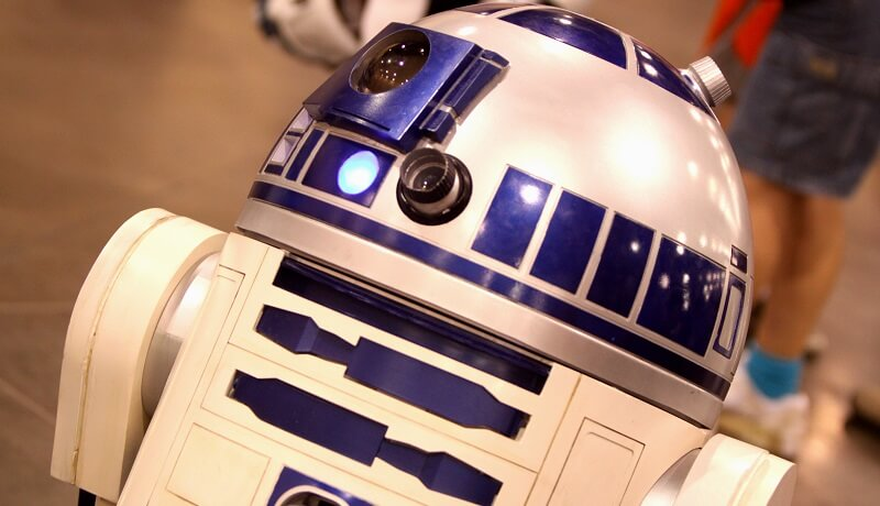Robot R2D2 cinema