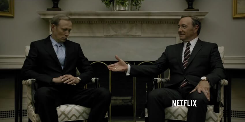 Trailer saison 3 House of Cards