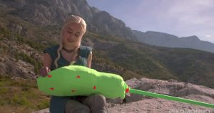 Emilia Clarke, Daenerys Targaryen, effets spéciaux, dragons, Game of Thrones