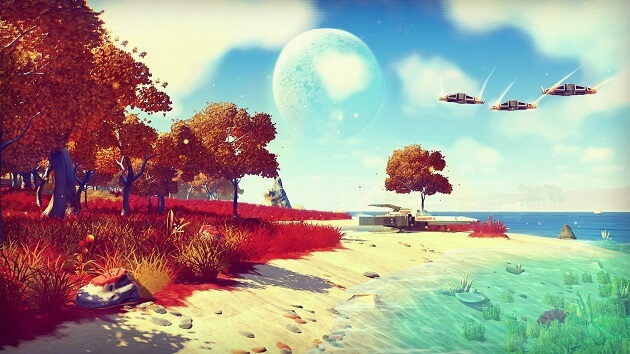 No Man's Sky, jeu 2015