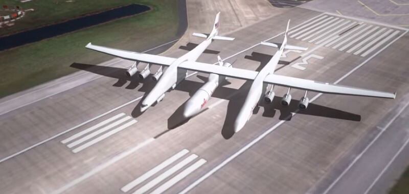 Stratolaunch System, gros avion