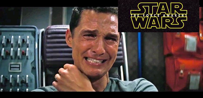 Matthew McConaughey, réaction Star Wars trailer