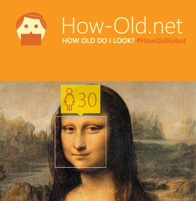 How-Old.net, Microsoft, reconnaissance-faciale