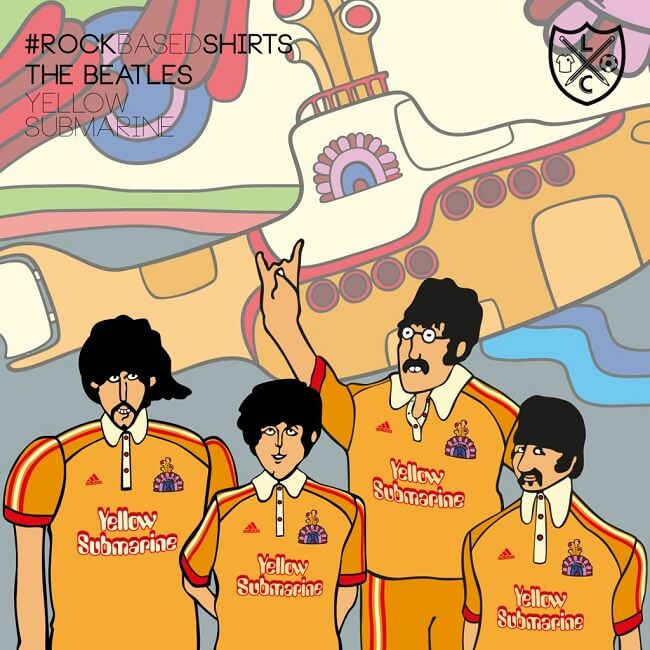 La Casaca, maillots de foot, albums pop-rock