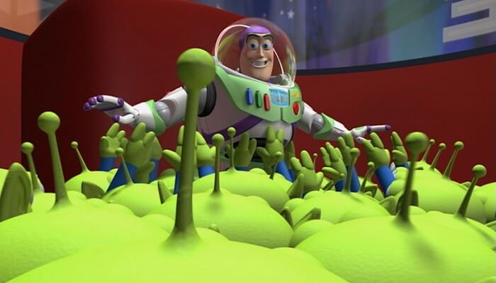Toy Story, grappin trucage