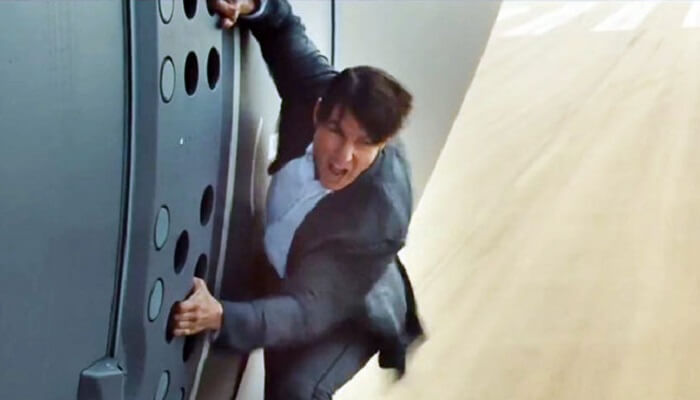 Mission Impossible, Tom Cruise, avion