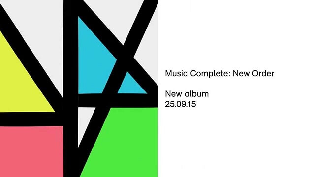 New Order, Music Complete, album