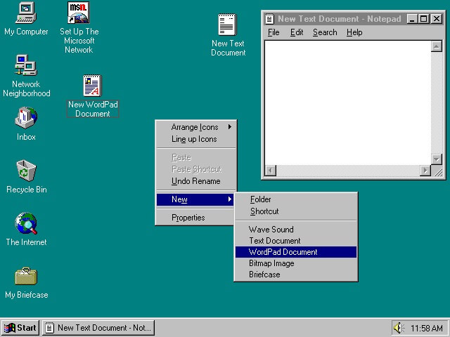 Windows 95, anniversaire 20 ans