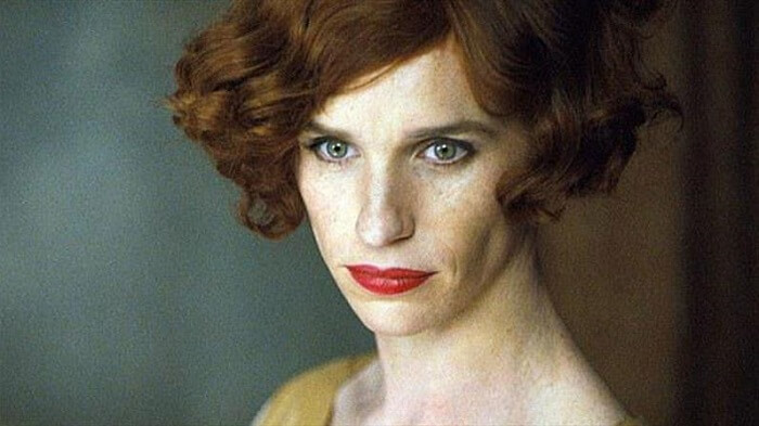 Eddie Redmayne, The Danish Girl, bande annonce