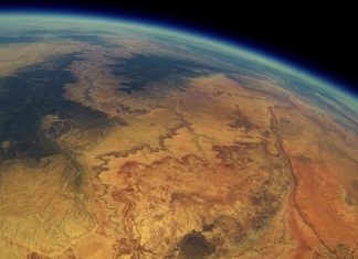 GoPro, stratosphère, Grand Canyon