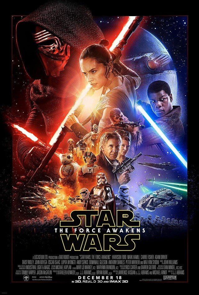 affiche Star Wars 7, Le Réveil de la Force