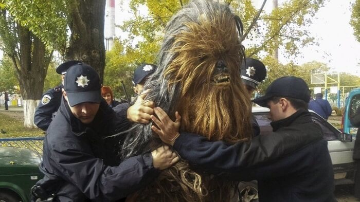 chewbacca arrestation ukraine