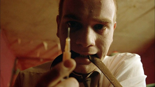 scène de drogue, Trainspotting