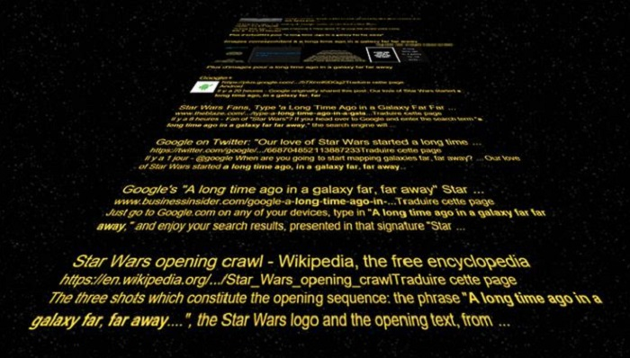Easter Egg, Google, Star Wars