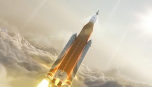 étapes de la NASA pour coloniser Mars, space launch system