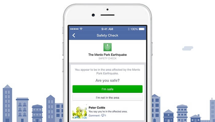 Safety Check, Facebook, Paris, Beyrouth