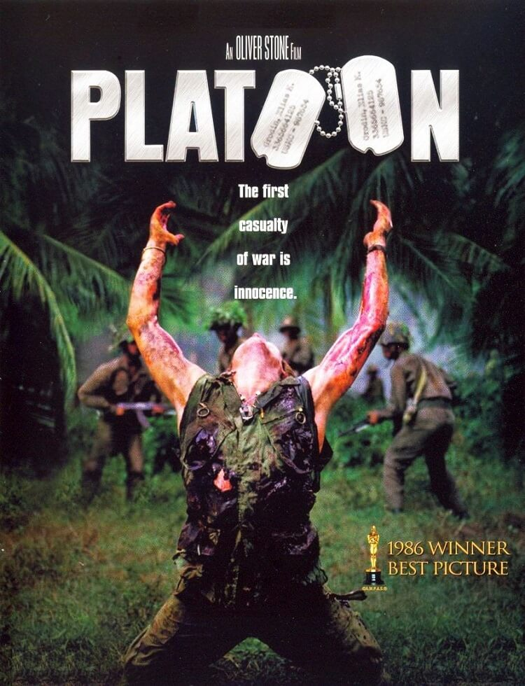 film analysis of platoon 1986 Movie review platoon review it's really hard to watch a vietnam movie after  seeing apocalypse now francis ford  so, it is quite an accomplishment on the  part of director oliver stone that platoon stands out as a film of great merit it's  gritty.