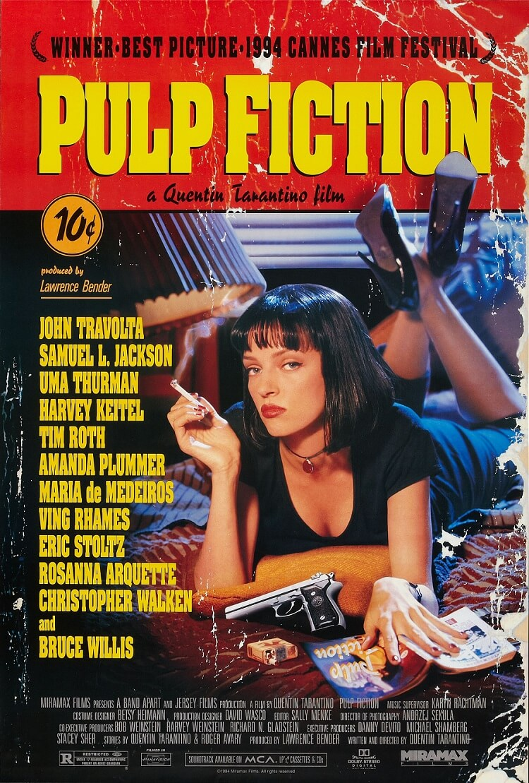 Affiche de film, Pulp Fiction