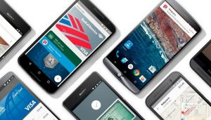 Android Pay, achat via application