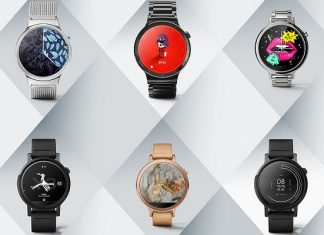 Android Wear, montre connectee, cadran