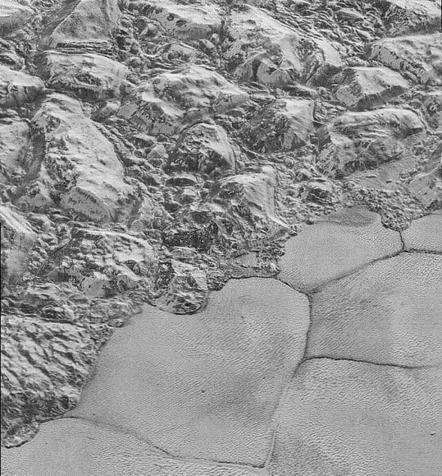 photo, Pluton, surface, NASA