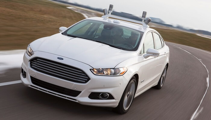 voiture autonome, Ford, Google