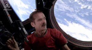 Chris Hadfield, hommage, David Bowie, Space Oddity