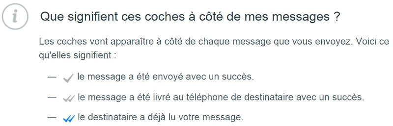 coches Whatsapp, message lu