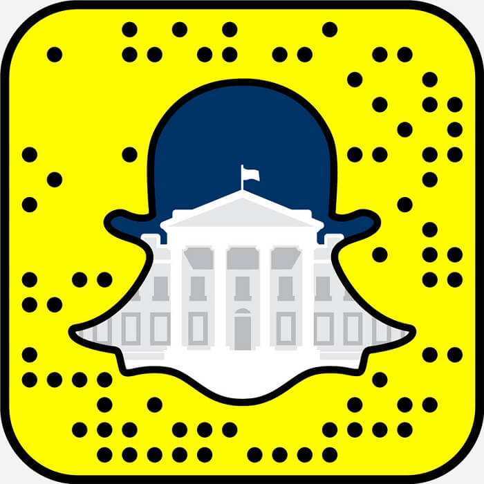 Snapchat Whitehouse