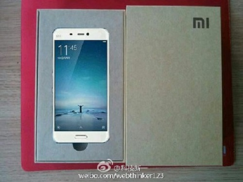 Xiaomi Mi5, packaging