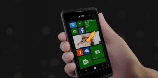 Acer, applications Microsoft sous smartphones Android