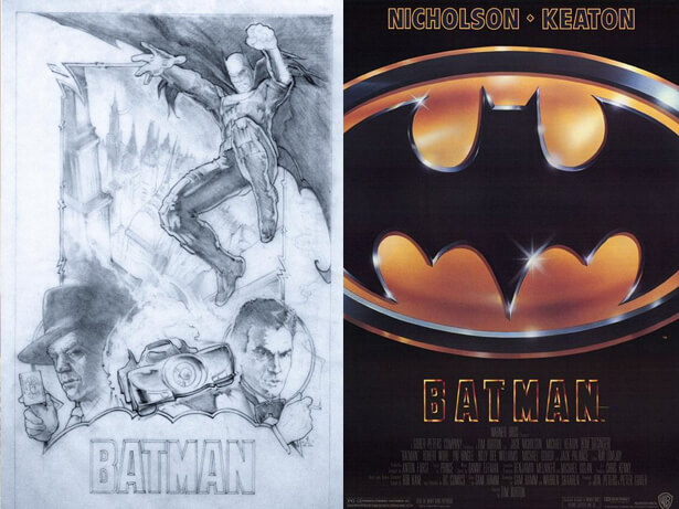 affiche de film non retenue: Batman