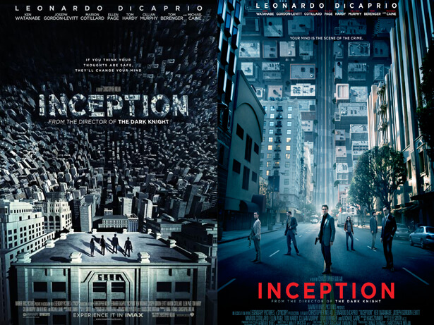 affiche de film non retenue: Inception
