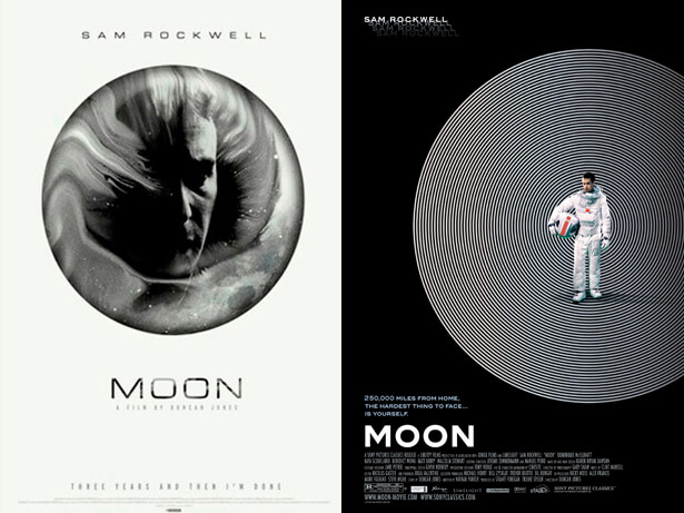 affiche de film non retenue: Moon