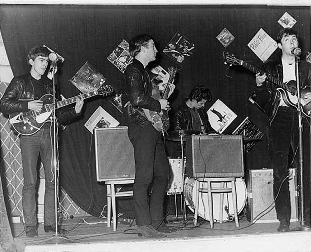 Beatles, concert, 18 personnes, archives , photos