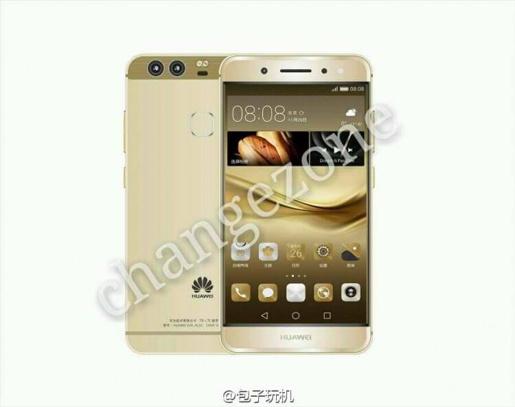 Huawei P9, apparence