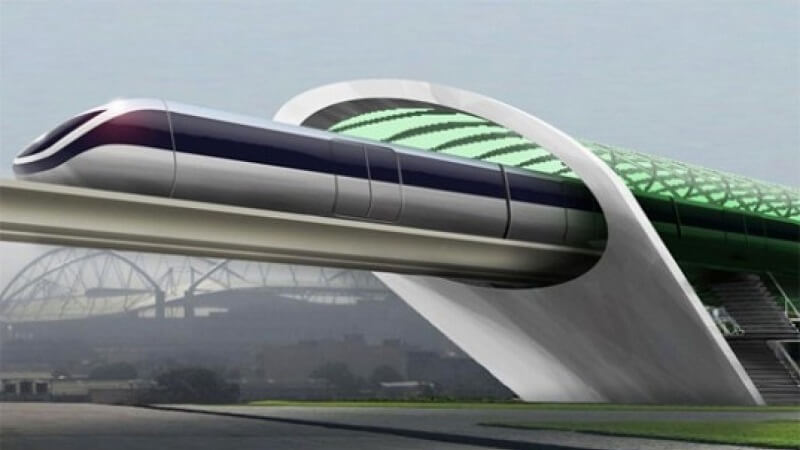 Hyperloop, train du futur, Elon Musk