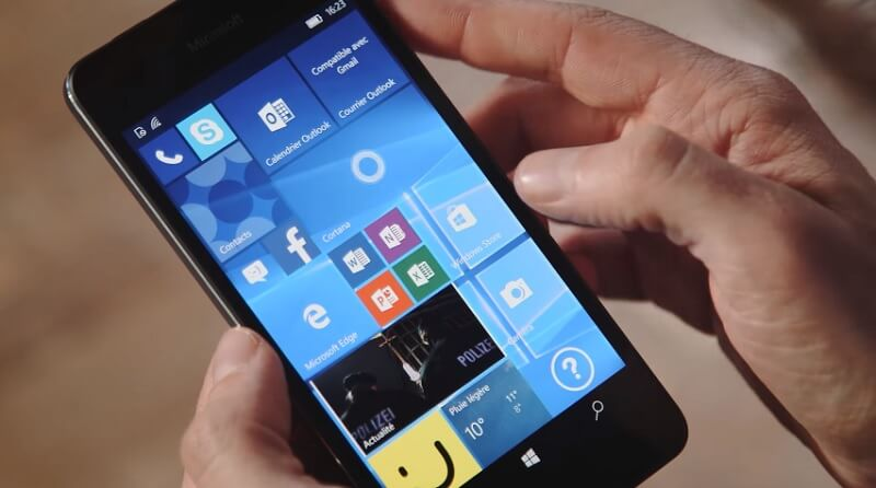Lumia 650, officialisation par Microsoft