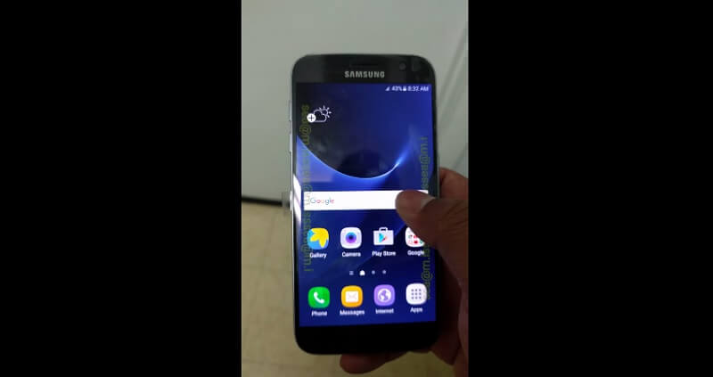 Touchwiz, Samsung Galaxy S7