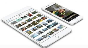 iOS 10, application Photos, mise à jour