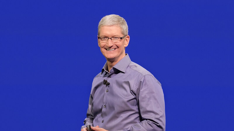 Keynote d'Apple, mars 2016, Tim Cook