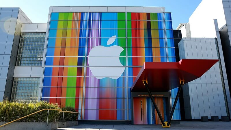 Logo Apple Multicolore