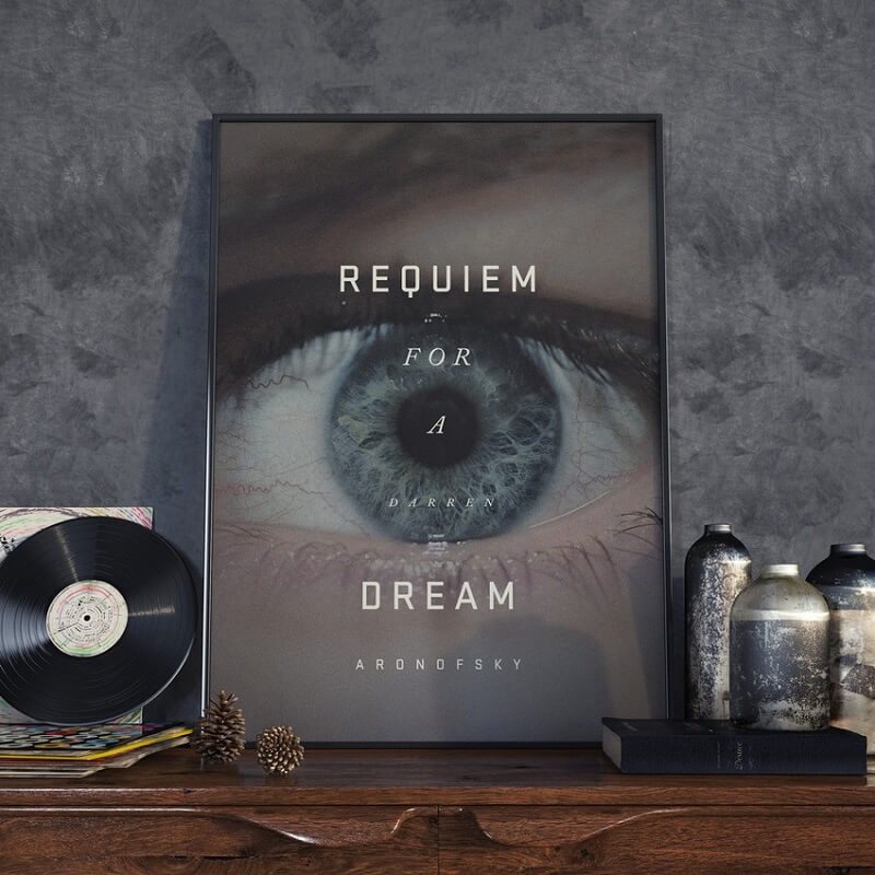 Requiem for a dream, Peter Majarich, affiche de film