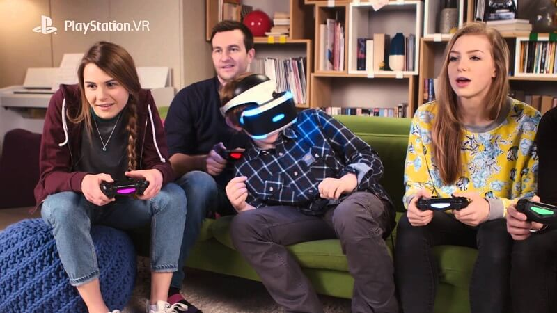 The Playroom VR, Playstation VR, Sony