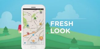 Waze, version 4, Android