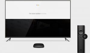 Google et la Xiaomi Mi Box TV