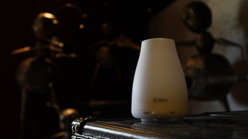 Test de l'humidificateur Essential de Esky