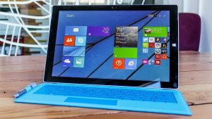 La Surface 3 de Microsoft